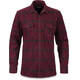 Dakine Underwood Flannel Button Shirt Men Plum Shadow